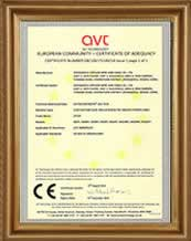 CE certificate for XLPE insulated cable