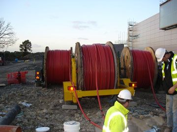 Concentric cable to Dominica