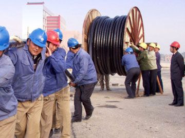 Aluminum armoured cable for Mongolia